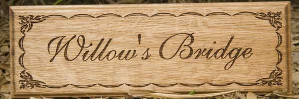 Woode House Sgns Elegant Wooden House Signs And Nameplates