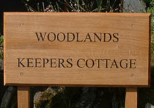 Oak And Softwood Posts Hanging Signs Brackets